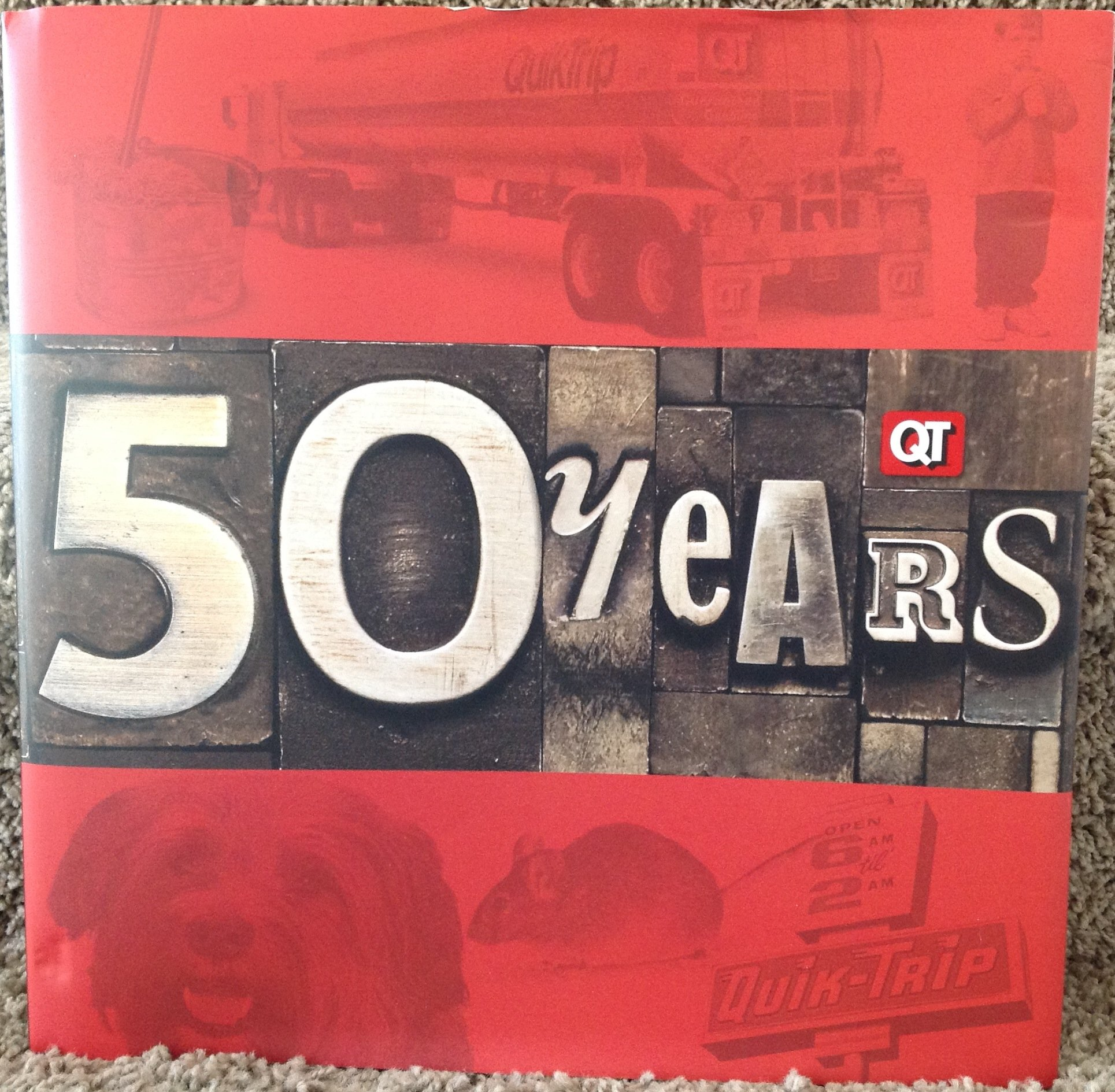 Download QT The Fifty Year Book 1958 - 2008 (QuikTrip Corporation) ebook