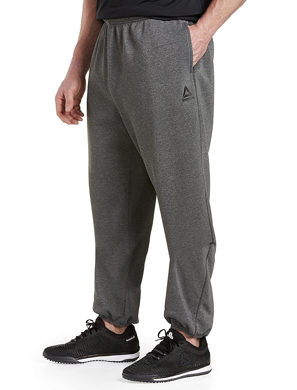 Reebok Big and Tall Play Dry Fleece Pants