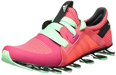 san francisco e688e 7602a adidas Springblade Nanaya Ladies Running Shoes - Red-6