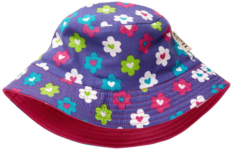 Hatley Girls Flower Hearts Sun Hat