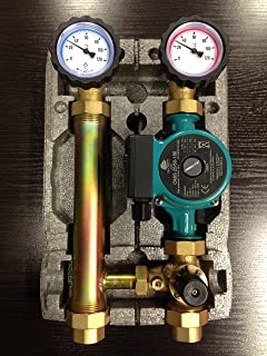 Erstaunlich Wilo Pumpengruppe für Heizung Umwälzpumpe 25/60 Hocheffizienzpumpe  GW43