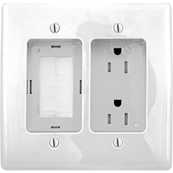 Recessed Quad Outlet