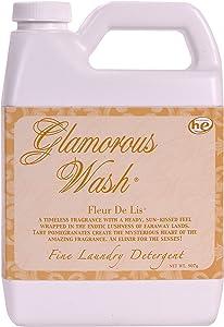 Tyler Candle Fleur De Lis Glamorous Wash 32 oz Fine Laundry Detergent