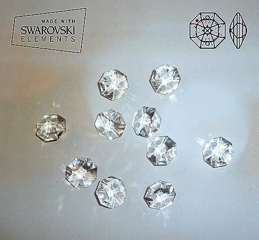Beautiful 10 Cristalli Swarovski Elements, 14 Mm Per Lampadari, Decorazioni, Feng Shui