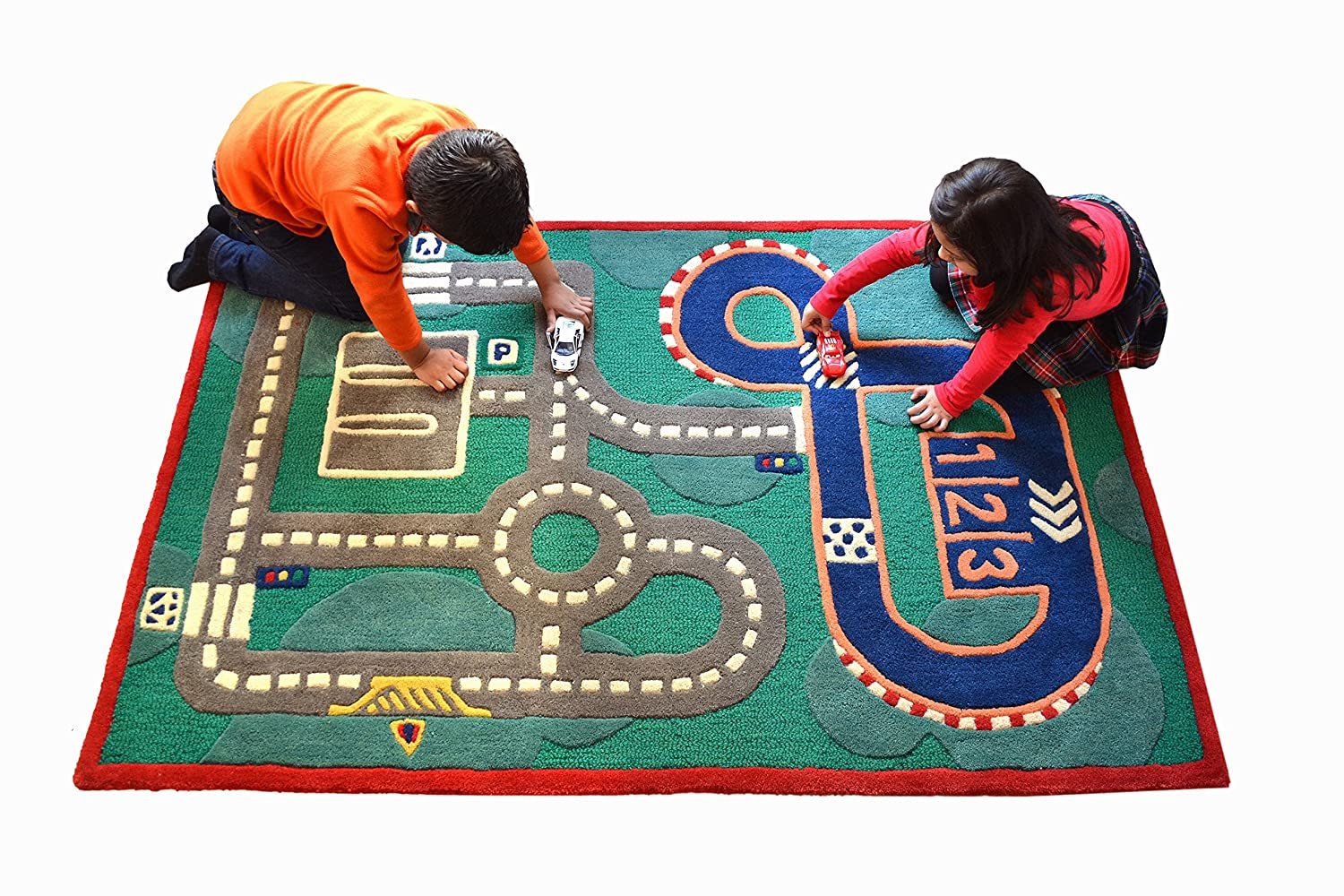 Buy Little Looms Race Track Rug Online At Low Prices In India