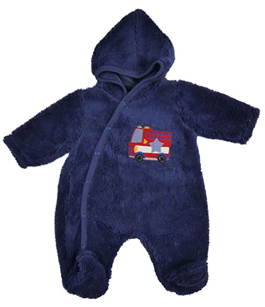 a783b3cd26d7 Amazon.com  Baby Fleece All in one Lightweight All In One Snowsuit ...