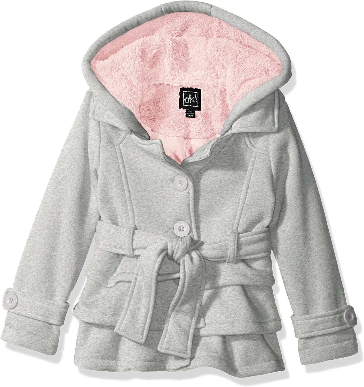 Bokeley Kids Jacket Baby Girls Clothes Winter Faux Fur Coat Thick Warm Outwear