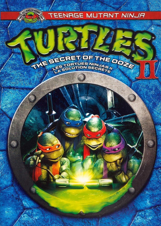 Retro review teenage mutant ninja turtles ii secret of the ooze - Teenage Mutant Ninja Turtles Ii The Secret Of The Ooze Les Tortues Ninjas 2 La Solution Secr Te Bilingual Amazon Ca Paige Turco Michelan Sisti