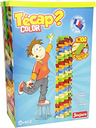 jeujura tecap color 8335 construction set with 300 pieces - Tecap Color