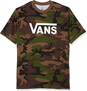 866c24e20f Vans Checker Classic Boys  T-Shirt black rasta Size XL  Amazon.co.uk ...