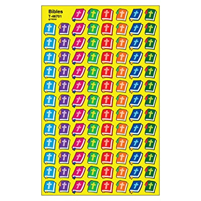 TREND enterprises, Inc. Bibles superShapes Stickers, 800 ct: Toys & Games [5Bkhe0801950]