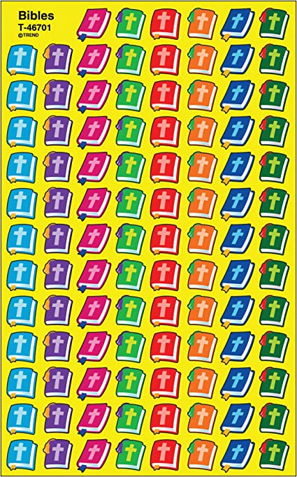 800 ct Trend Enterprises Inc Numbers superShapes Stickers