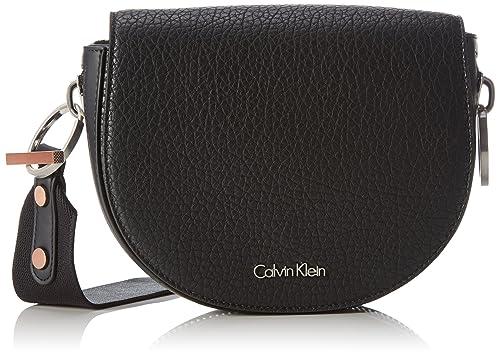 4e136d84111 Calvin Klein Jeans K60K602216 - Bolso Bandolera de Piel sintética Mujer
