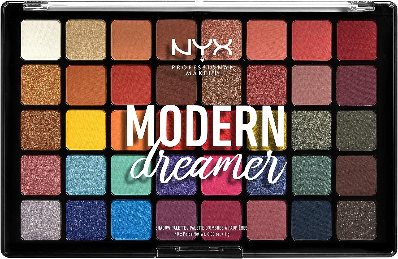 NYX Professional Makeup - Paleta de sombras de ojos Modern Dreamer: Amazon.es: Belleza