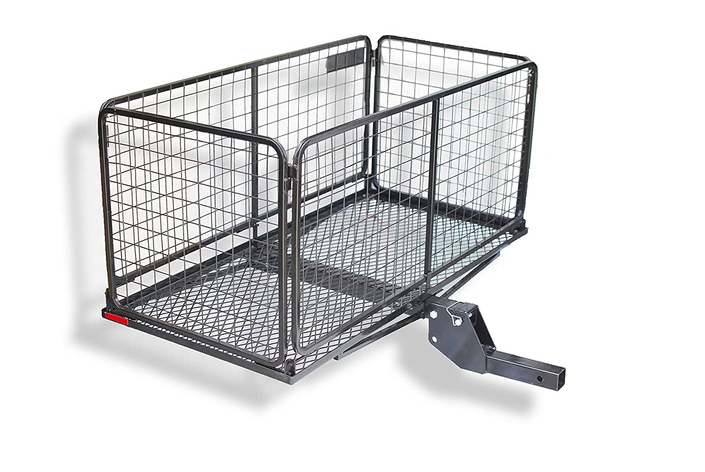 CARPOD Cargo Carrier Basket with 4 Raised /& Folding Shank M2205
