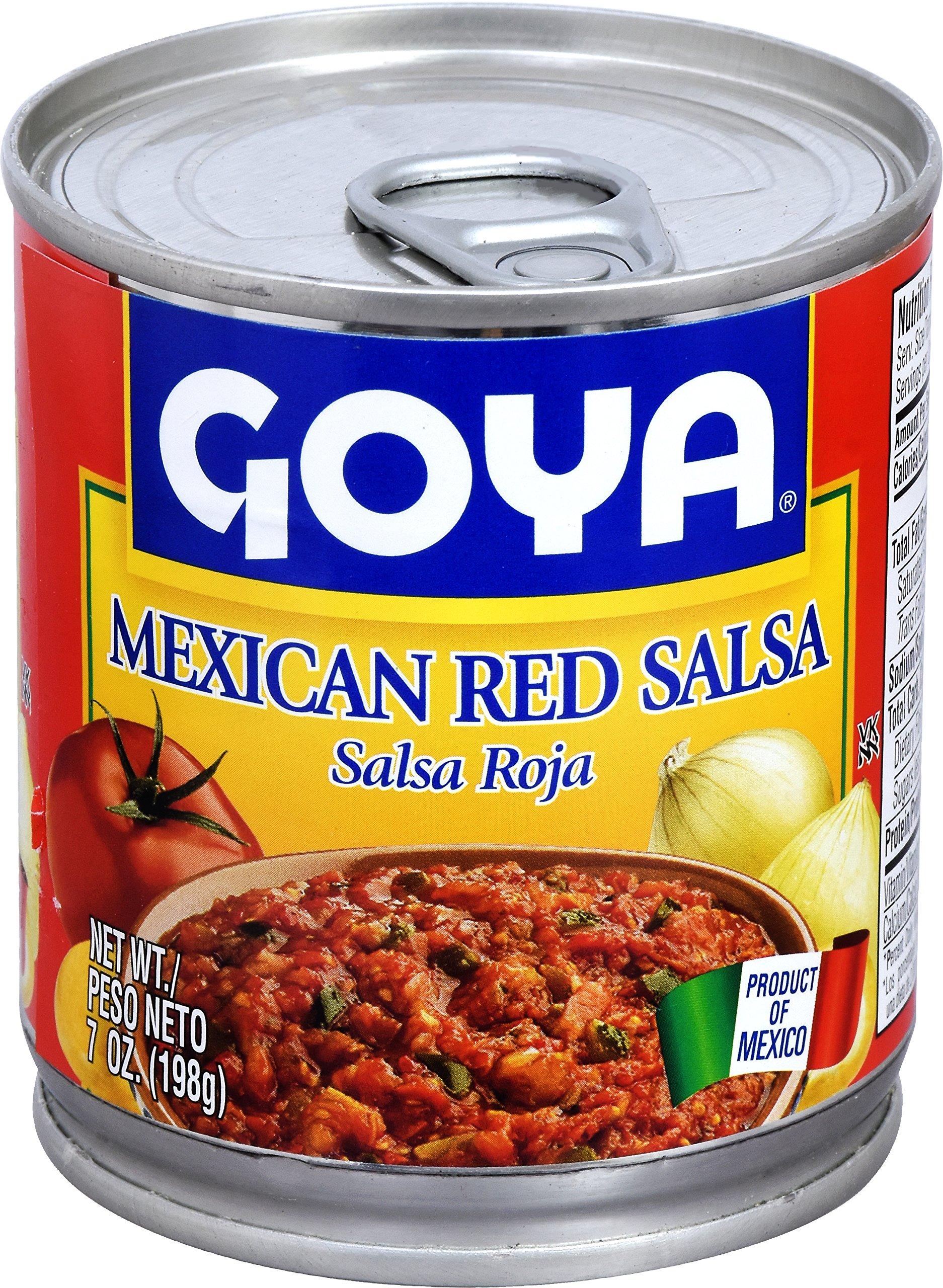 Goya Foods Salsa Roja Casera Mexican, 7-Ounce (Pack of 24)
