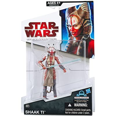 Star Wars 2009 Legacy Collection BuildADroid Action Figure BD No. 61 Shaak Ti Force Unleashed: Toys & Games
