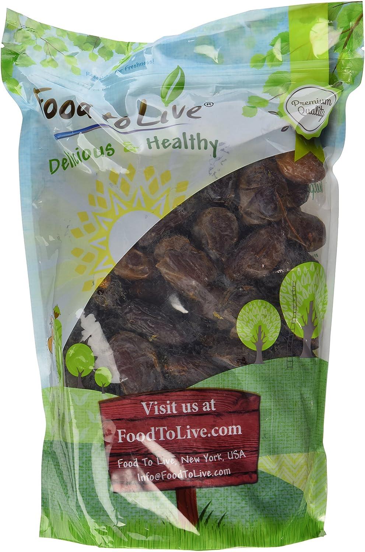 Food to Live Los dátiles de Medjool - 2.3 Kg: Amazon.es ...