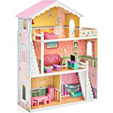 Amazon.com: Zeller 13182 Toy Box with Wheels Pine / 73 x 39.5 x 45 ...