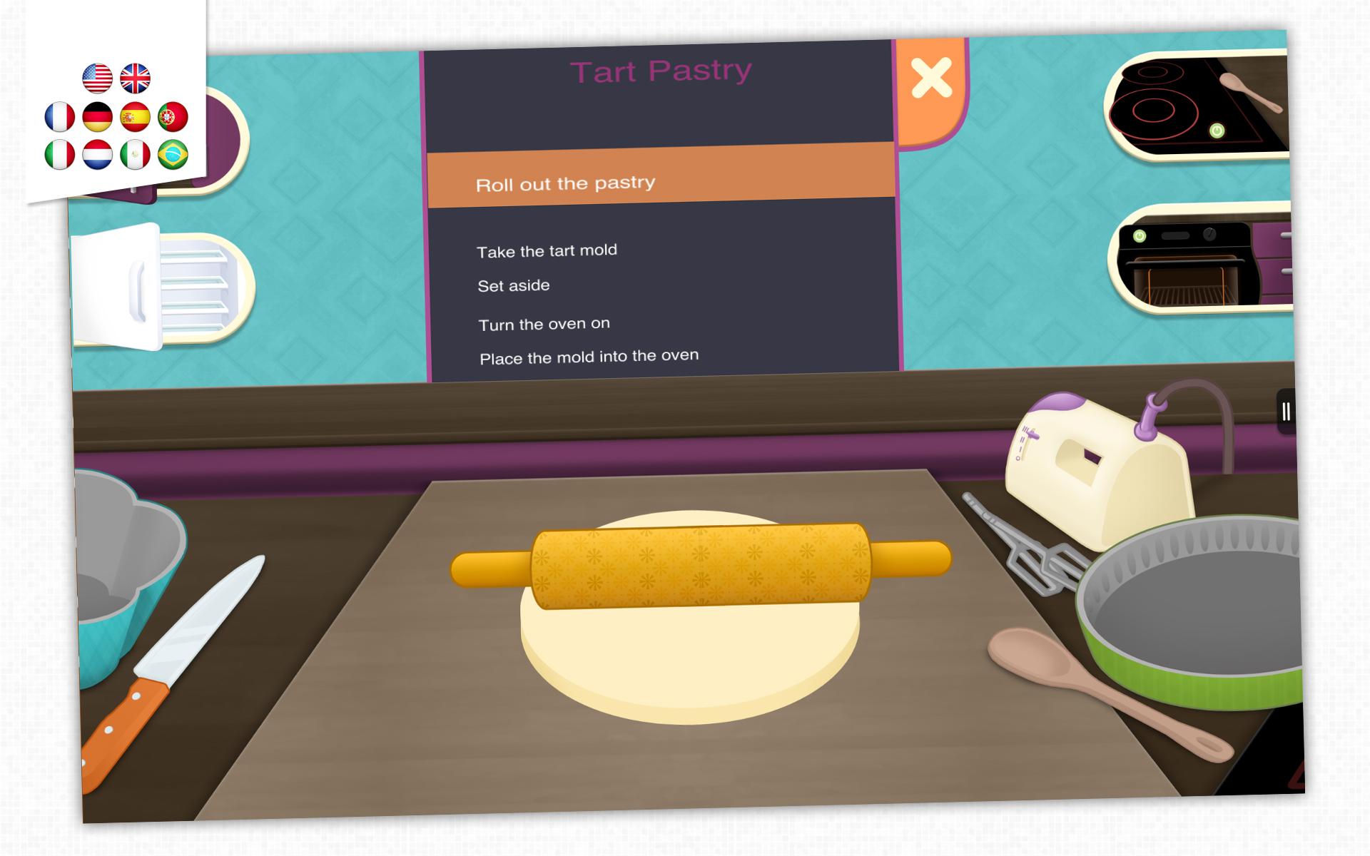 Kidecook jeu de cuisine pour enfants - Jeu de cuisine android ...