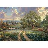 Schmidt Spiele 58461 - Thomas Kinkade, Country Living, 1.000 Teile