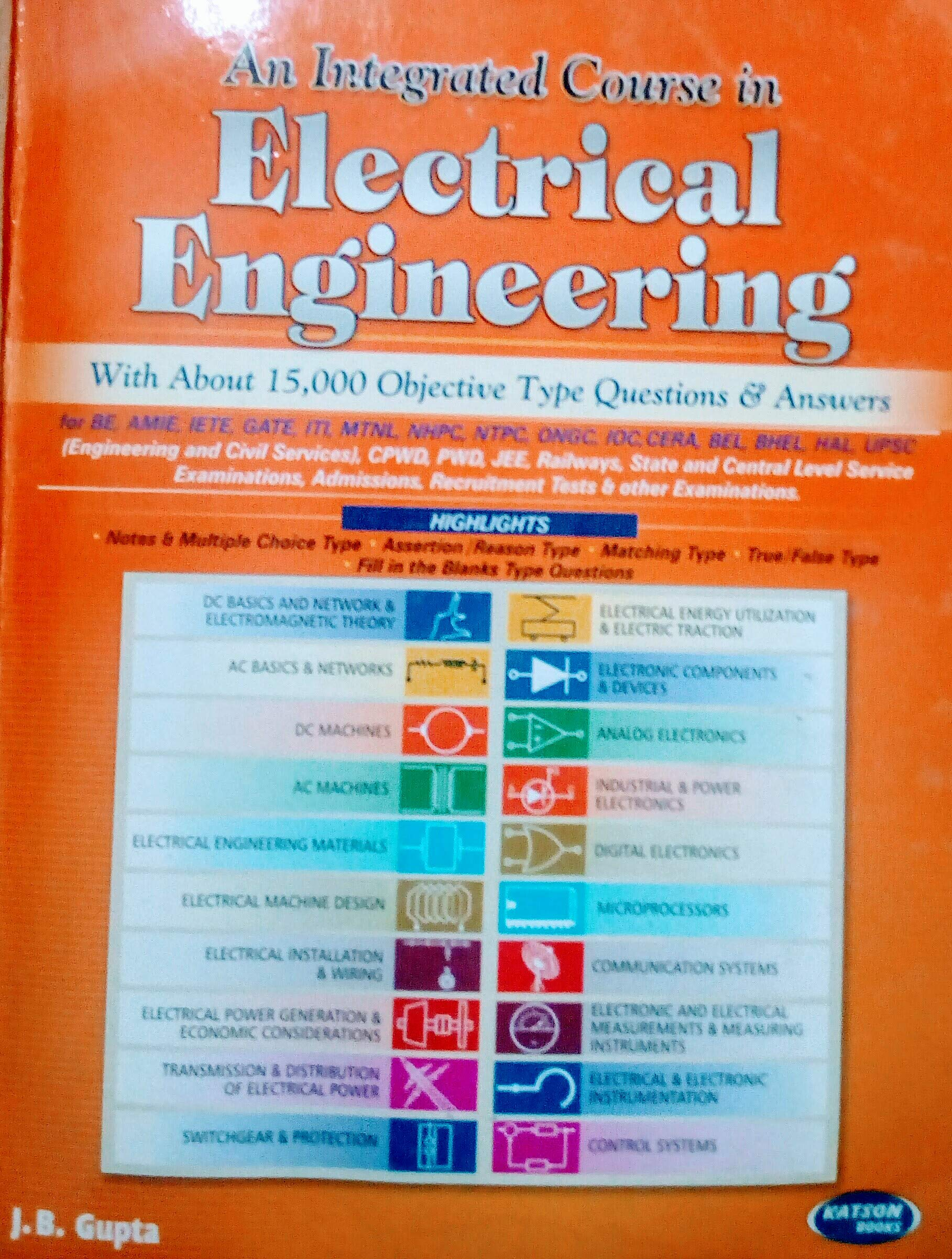 Buy An integrated course in electrical engineering with 15