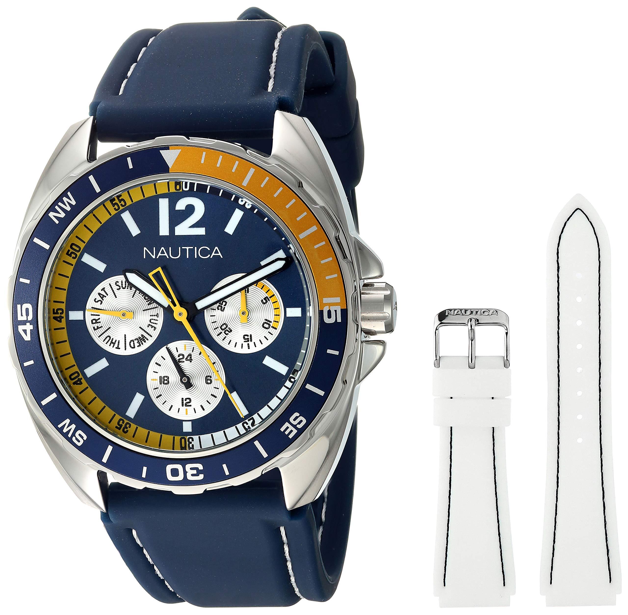 Men's Quartz Resin Silicone Watch