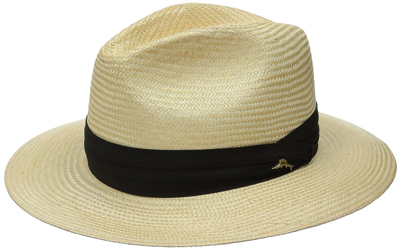 8113c8d92ed6c Tommy Bahama Men s Balibuntal Straw Safari Hat at Amazon Men s Clothing  store