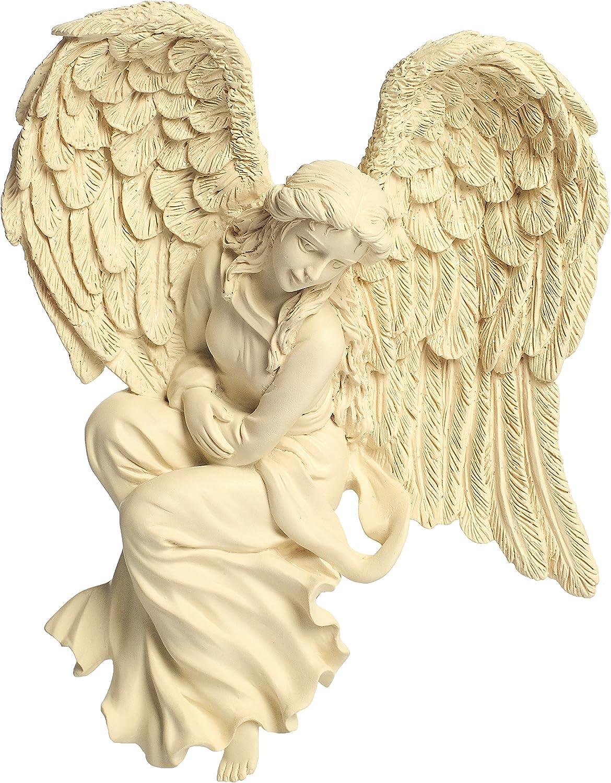 Figura ángel marco pared