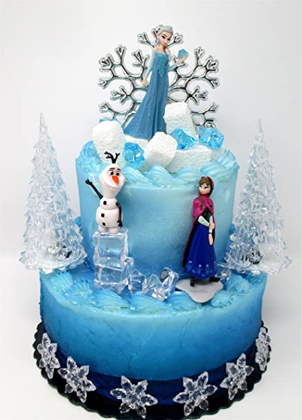 Amazon.com: Winter Wonderland Elsa Frozen - Decoración para ...