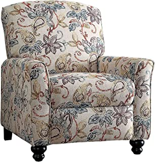 Homelegance Velsen Push Back Recliner Chair Beige  sc 1 st  Amazon.com : paisley parsons chair - Cheerinfomania.Com