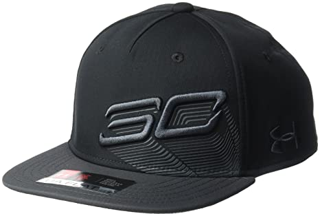 Amazon.com  Under Armour Boys  SC30 Tilted Logo Snapback Hat 605ded955f4