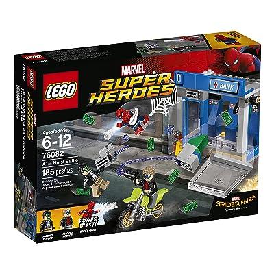 LEGO Super Heroes ATM Heist Battle 76082 Building Kit: Toys & Games