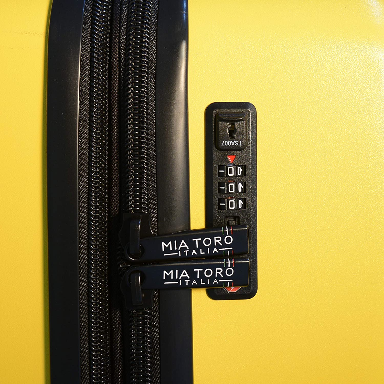 Red Mia Toro Italy Fassa Hardside Spinner Luggage 3 Piece Set