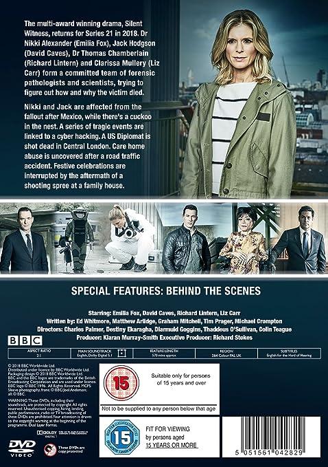 Silent Witness - Series 21 [DVD] [2017]: Amazon co uk: Emilia Fox