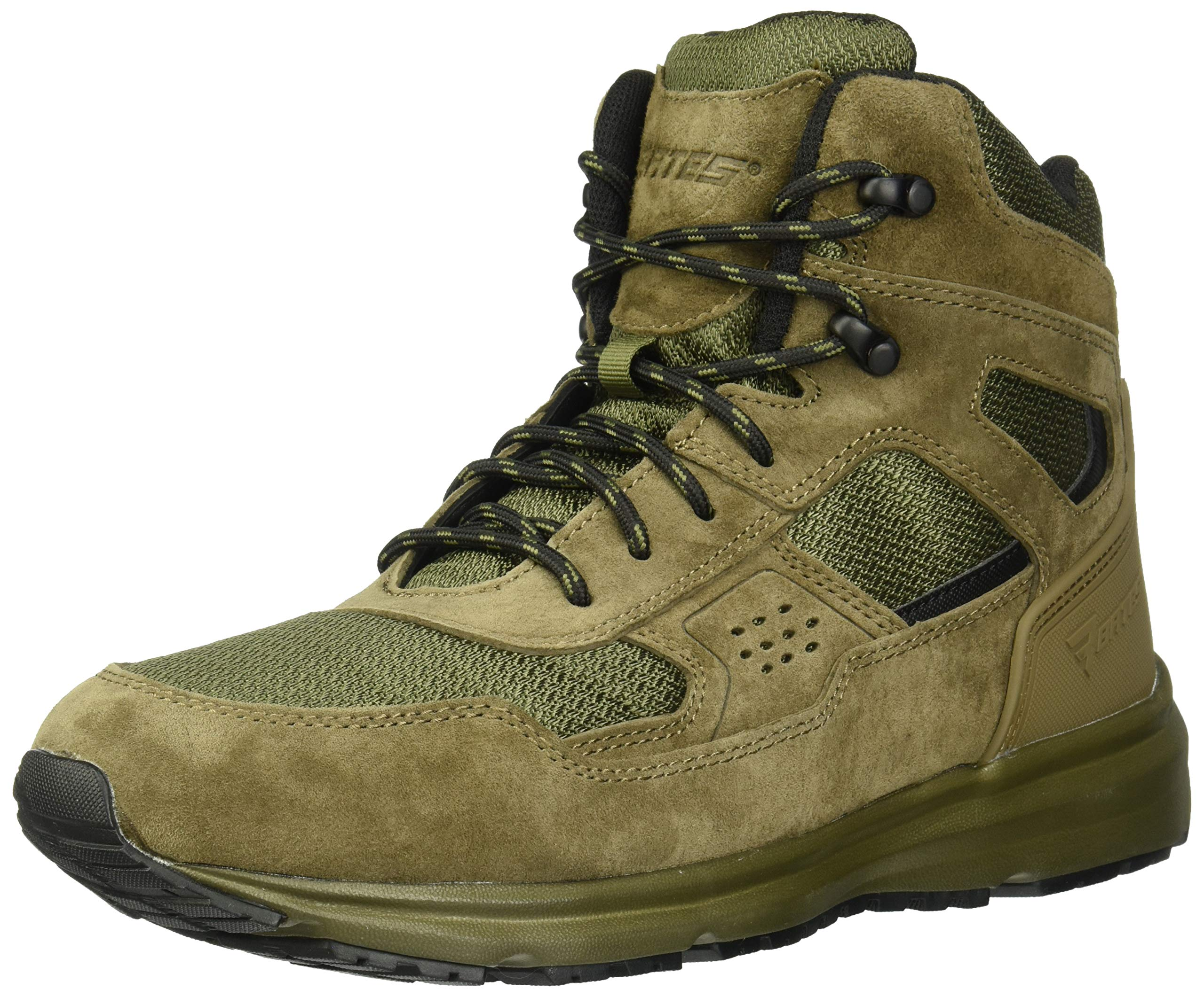 Bates Men's Raide Sport Mid Fire and Safety Boot, Canteen, 8.5 M US