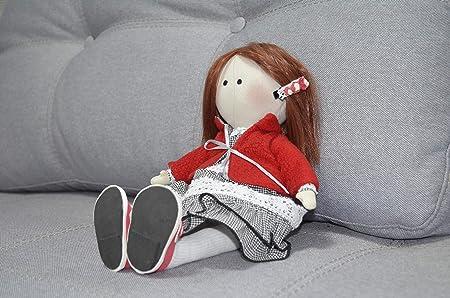 a5b6f8c241c9f Ungvar Tilda Textile Rag doll in shoes Matilda doll Soft Stuffed ...