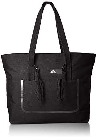 b707f08256 adidas Women BETTER TOTE SOL Bag - Black - (NEGRO BLANCO NEGRO)