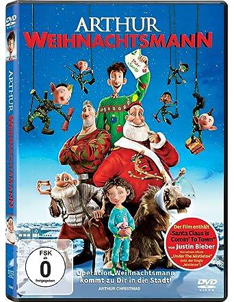 Arthur Weihnachtsmann: Amazon.de: James McAvoy, Yves Barre, Sarah ...
