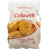 Colavita Capellini Nest(Angel Hair Pasta), 16-Oz, Pack of 10