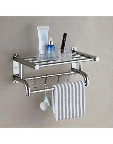 Toalleros repisa para baño | Amazon.es