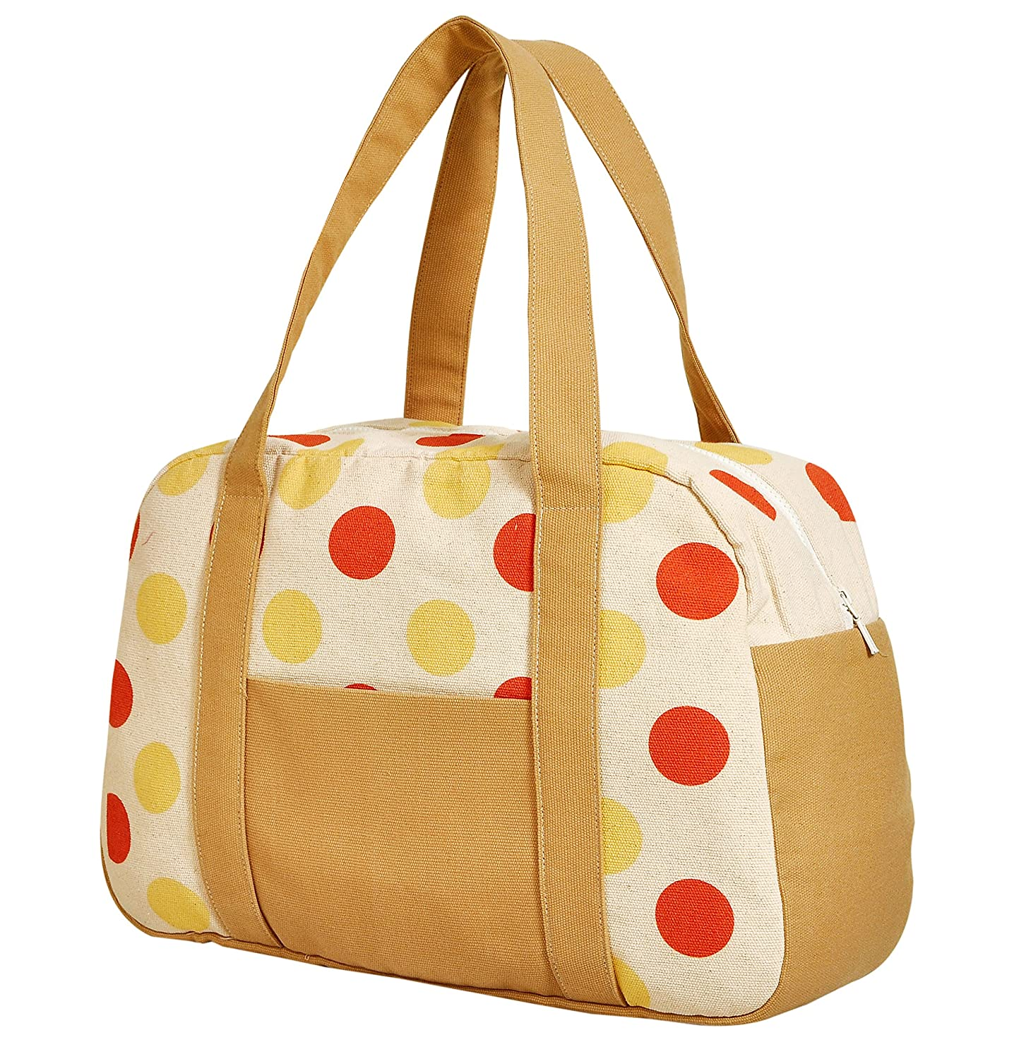 Womens Vintage Patterns Printed Canvas Duffel Travel Bags WAS/_19 /…