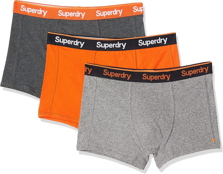 Superdry Orange Label Sport Trunk Triple Pack Costume da bagno da uomo