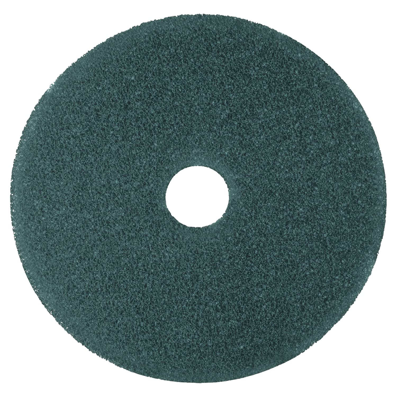 "3M Blue Cleaner Pad 5300, 17"" Floor Care Pad (Case of 5)"