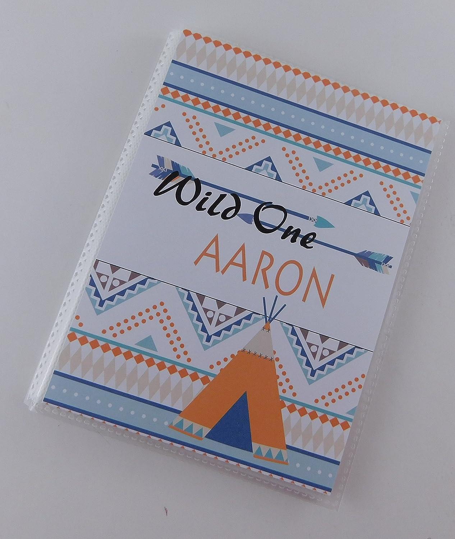 Amazoncom Wild One Photo Album Ia685 Boy Baby First Birthday Gift
