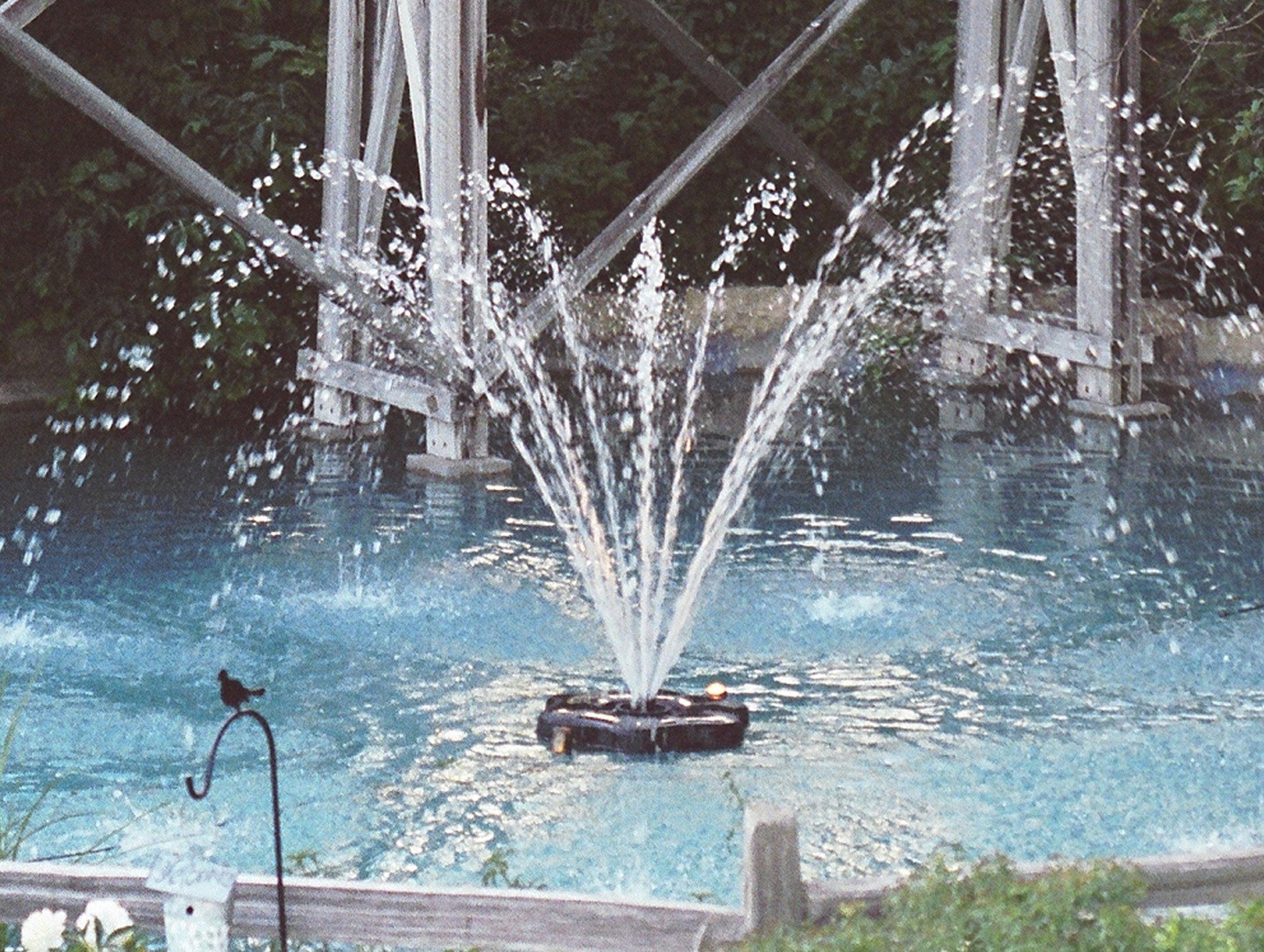 Kasco Aerating Fountain - 3/4 HP, 240V, 50ft. Cord, Model# 3400HJF050