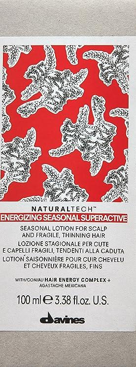 Davines Naturaltech Energizing Seasonal Superactive 100ml - Tratamiento anti-caída: Amazon.es: Belleza