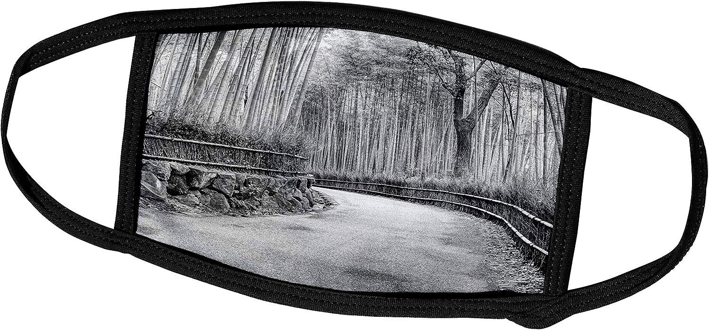 3dRose Danita Delimont - Gardens - Asia, Japan, Kyoto. Walkway Through Arashiyama Bamboo Grove. - Face Masks (fm_225859_2)