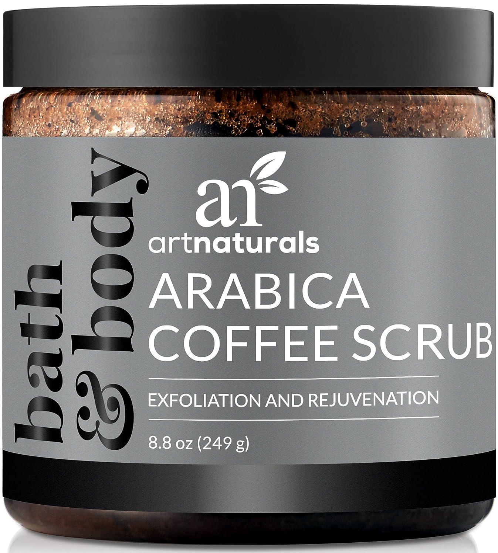 Artnaturals puro arabica caffè macchia 260 ml – il più potente rimedio per vene varicose, cellulite e smagliature – profondo pelle esfoliante promuove riparazione & ringiovanimento delle cellule ANME-0801-VE