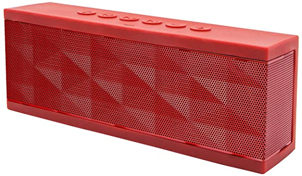 SoundBot SB571 Bluetooth Speakers (Red) at amazon